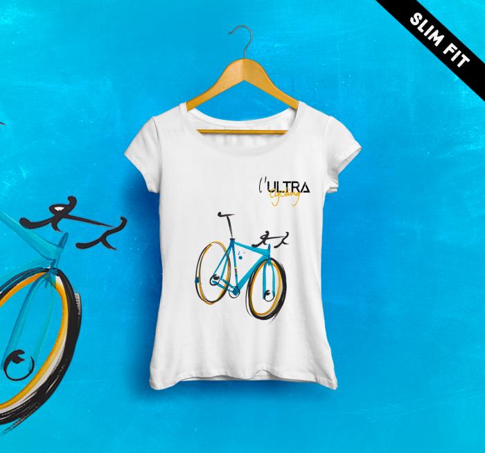 l'ULTRA Cycling T-SHIRT Donna