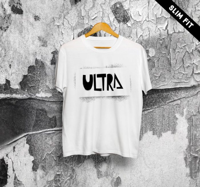 ULTRA Stancil T-shirt Uomo | BIANCA