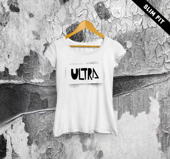 ULTRA Stancil T-shirt Donna | BIANCA
